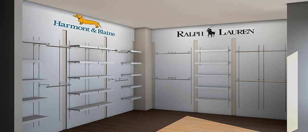 estanterias para tiendas de ropa