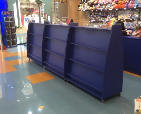 góndolas comerciales para tiendas