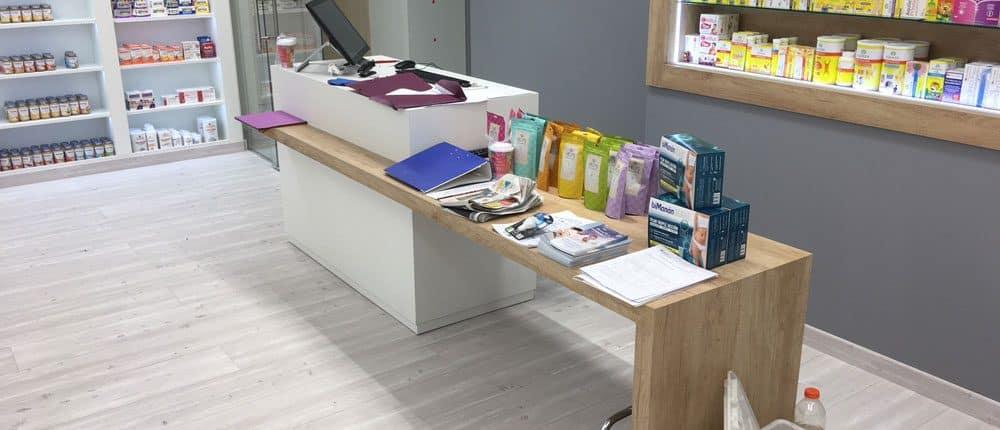 mesa mostrador para tienda