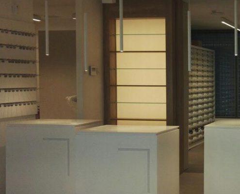 mostrador de diseño para tienda