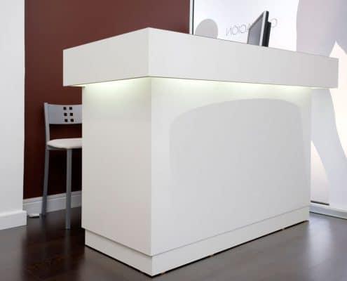 mostrador moderno