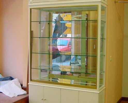 vitrina cristal a medida