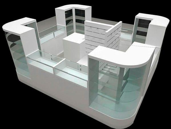 Diseño mobiliario comercial